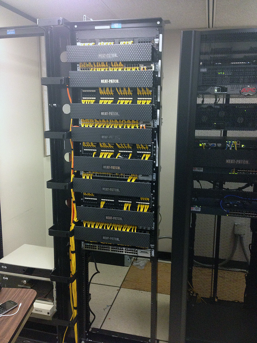 Superior Information Systems Services Cable Management